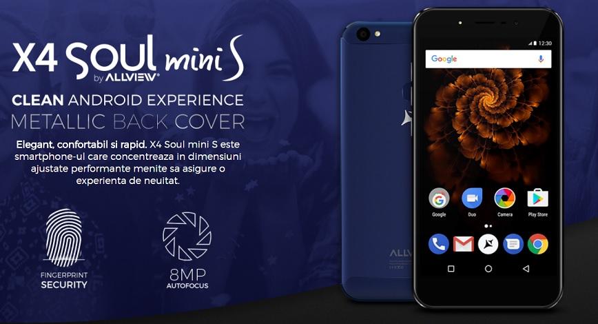 allview lanseaza telefonul x4 soul mini s, unul accesibil