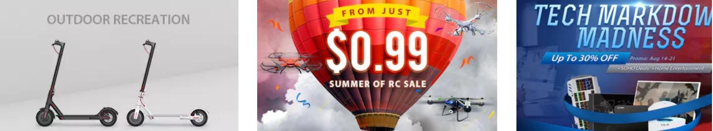 promo gearbest.com, produse sub 19.99 usd pentru clienti noi