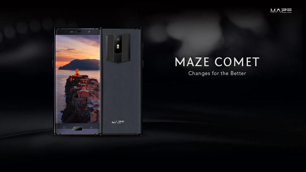 """Maze Comet maze comet, telefon anuntat oficial, display 18:9 si 5.7"""""""