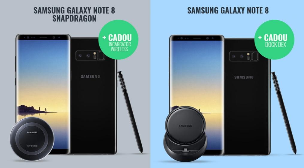 samsung galaxy note 8 cu snapdragon la quickmobile, iata pret