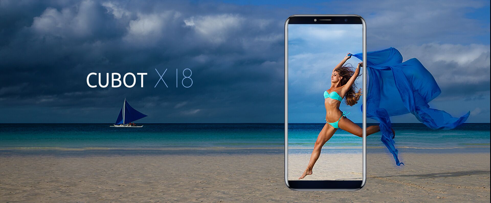 cubot x18, clona de samsung s8, display cu raport 18:9