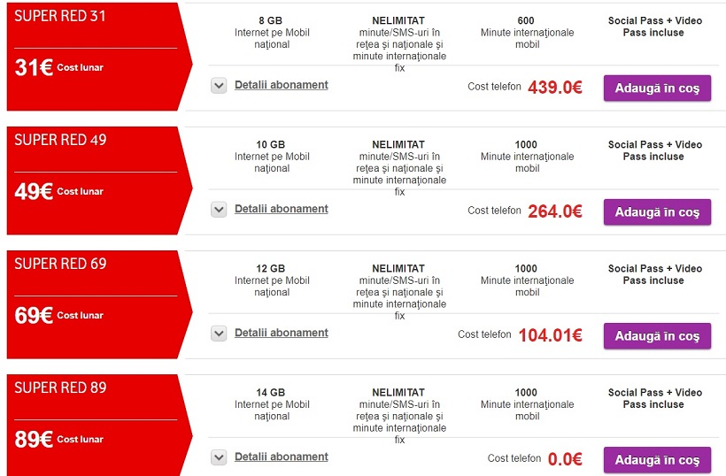 Samsung S8 la abonament orange, vodafone si telekom, cel mai ieftin samsung s8 la abonament?
