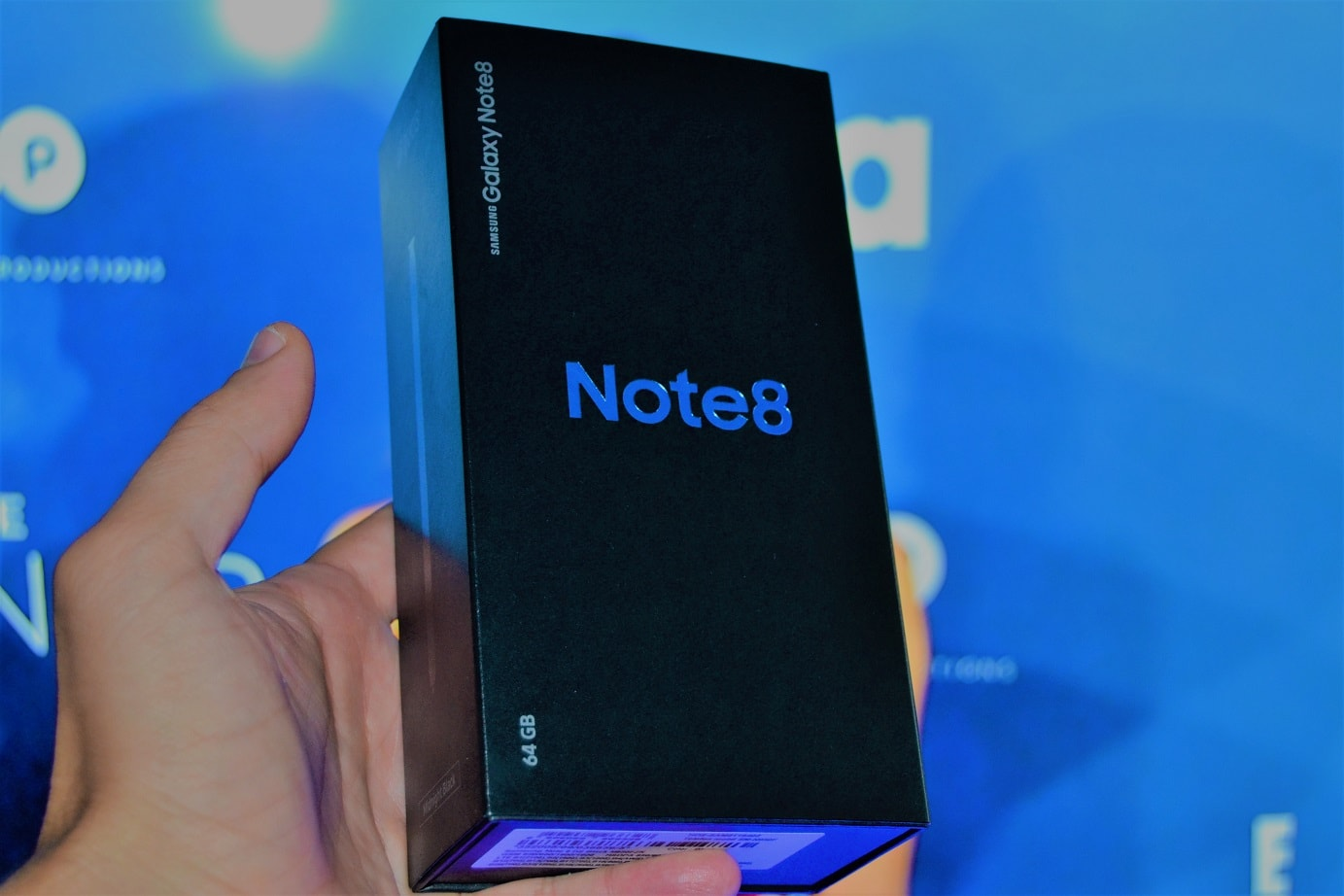 Samsung Galaxy Note 8, unboxing in limba romana