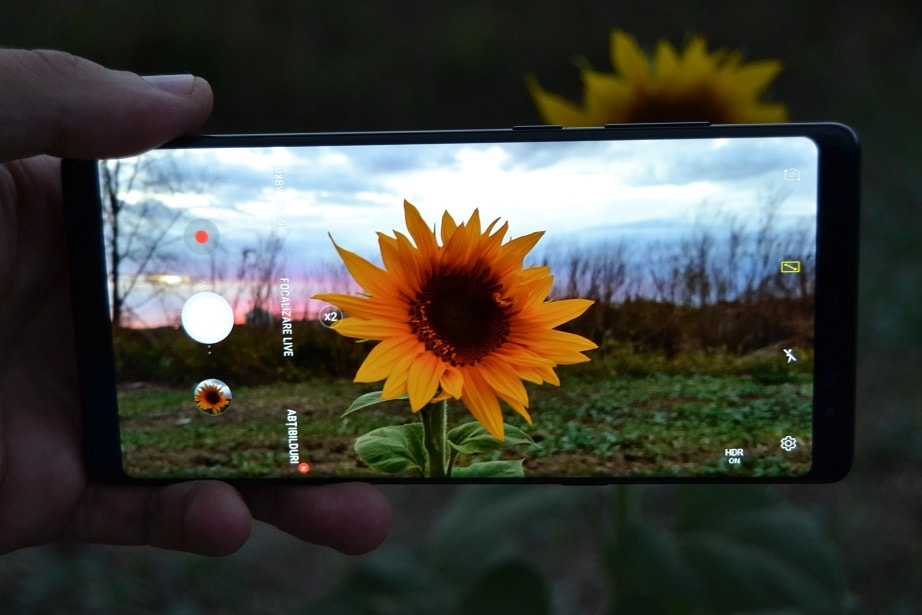 Galaxy Note 8 vs aparat foto DSLR samsung galaxy note 8