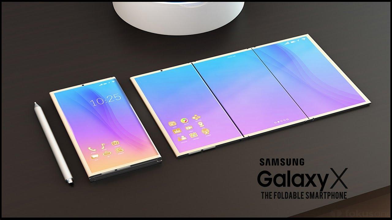 Samsung Galaxy X samsung galaxy x, telefonul pliabil este mai aproape decat pare