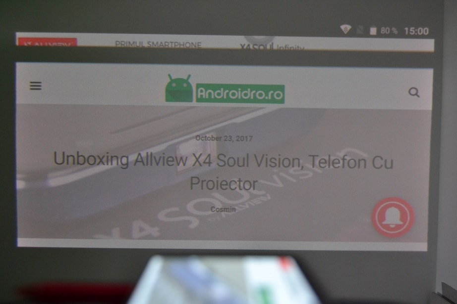 review allview x4 soul vision