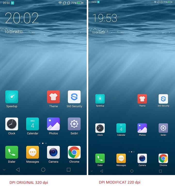 Cum schimbi rezolutia ecranului pe un telefon, mai exact dpi? cum schimbi rezolutia ecranului pe un telefon, mai exact dpi?