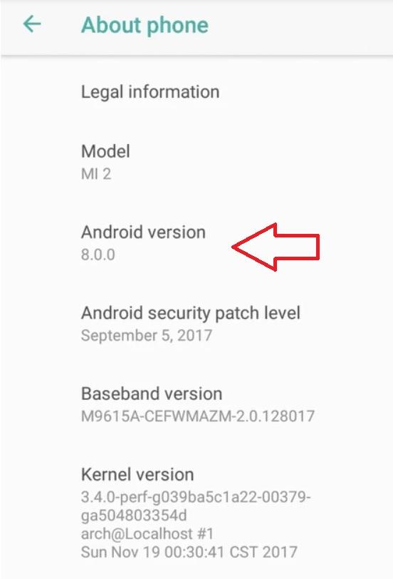 xiaomi mi 2 primeste update la android 8 oreo, telefon de 5 ani!
