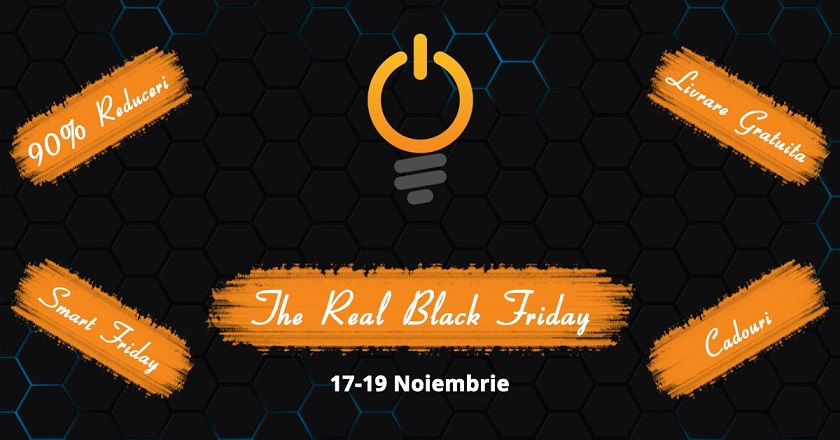 Black Friday 2017 the real black friday 2017 la smart products intre 17-19 noiembrie