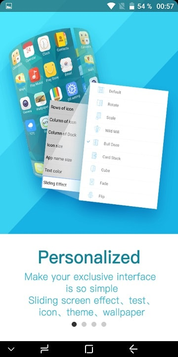 launcher de iphone x pentru telefoanele cu android