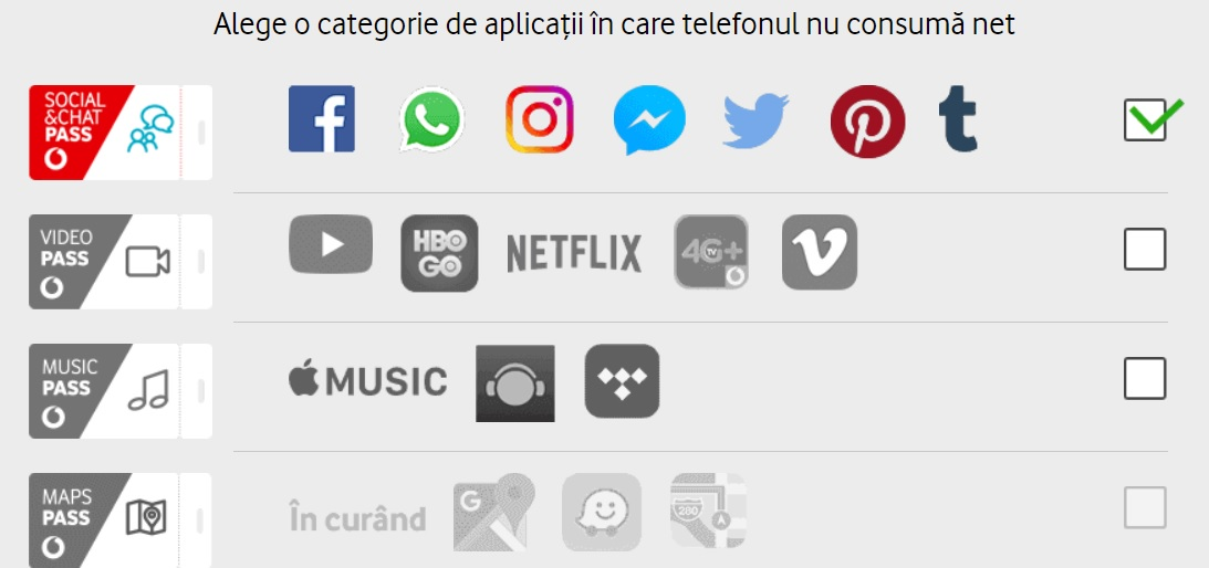 asa este? vodafone pass, aplicatii care nu consuma net!