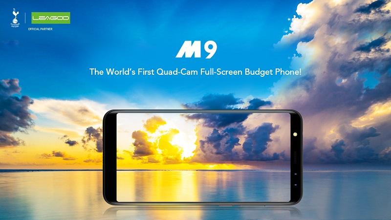 (p) precomenzi leagoo m9, 20% reducere pentru un telefon cu 4 camere