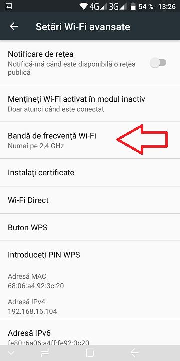 ai probleme cu conexiunea wifi? 2.5ghz sau 5ghz?