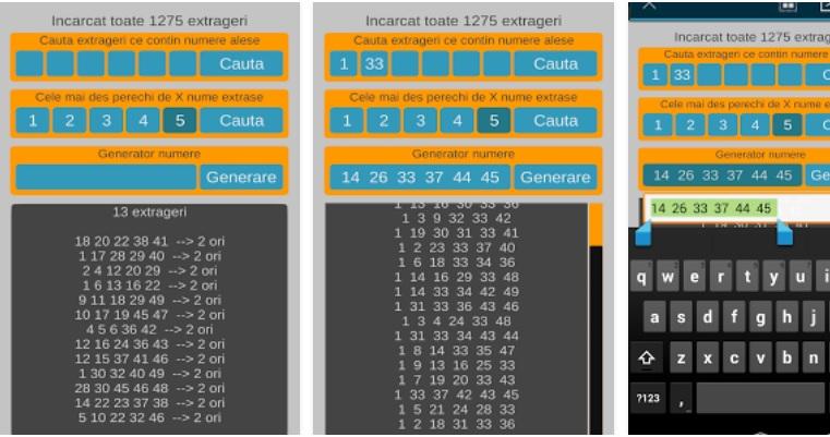 aplicatie loto 6 din 49 si generatoare de numere loto pe telefon