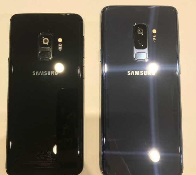 samsung galaxy s9 si s9 +, poze reale si clare!
