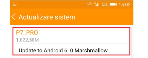 si allview p7 pro primeste o actualizare firmware