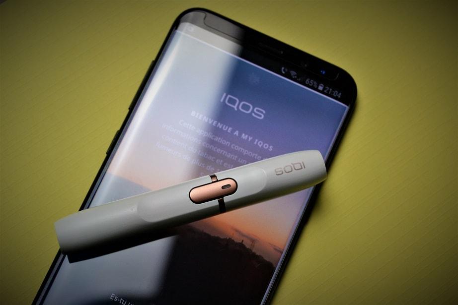 Aplicatia My IQOS pentru telefonul mobil, in Romania
