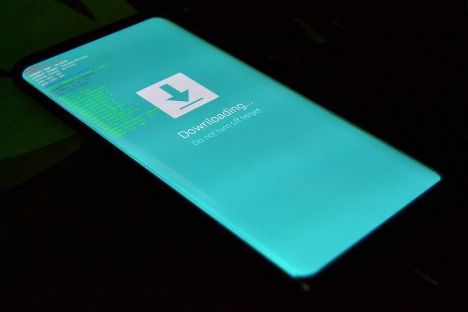 tutorial instalare android 8 oreo pe samsung s8+ sm-g955f