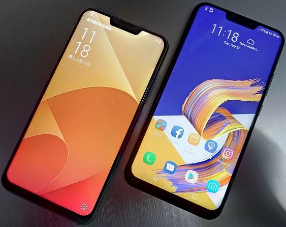 ce telefoane cu notch (breton) sunt lansate in martie 2018?