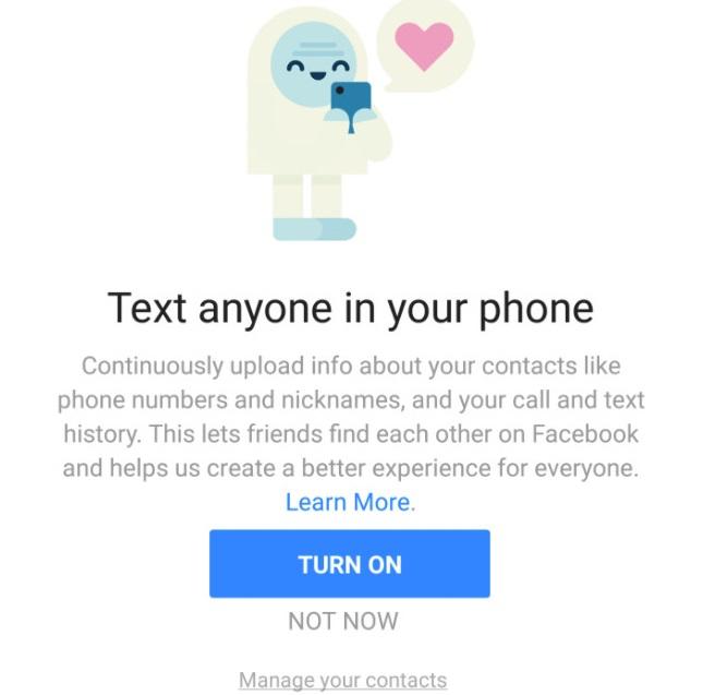 atentie - facebook a colectat ani la randul istoricul convorbirilor!