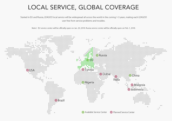"leagoo lanseza in nigeria servicul ""service local"""