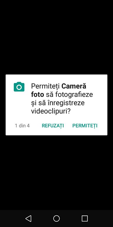 aplicatie camera