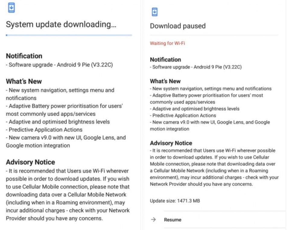nokia 7 plus primeste update la android 9 pie