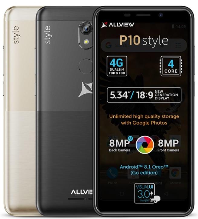 allview p10 style