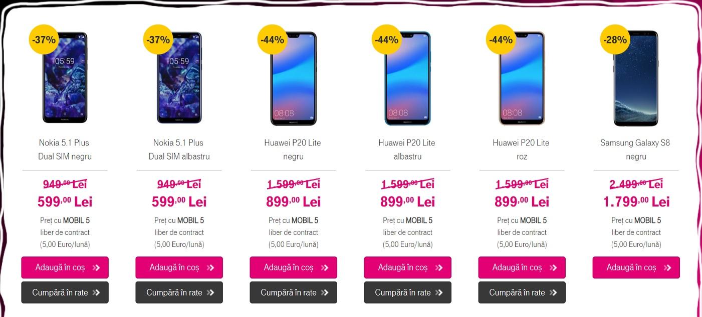 Ce inseamna abonament Mobil 5 liber de contract la Telekom?