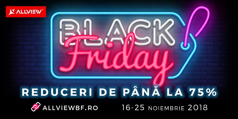 black friday la allview in 2018