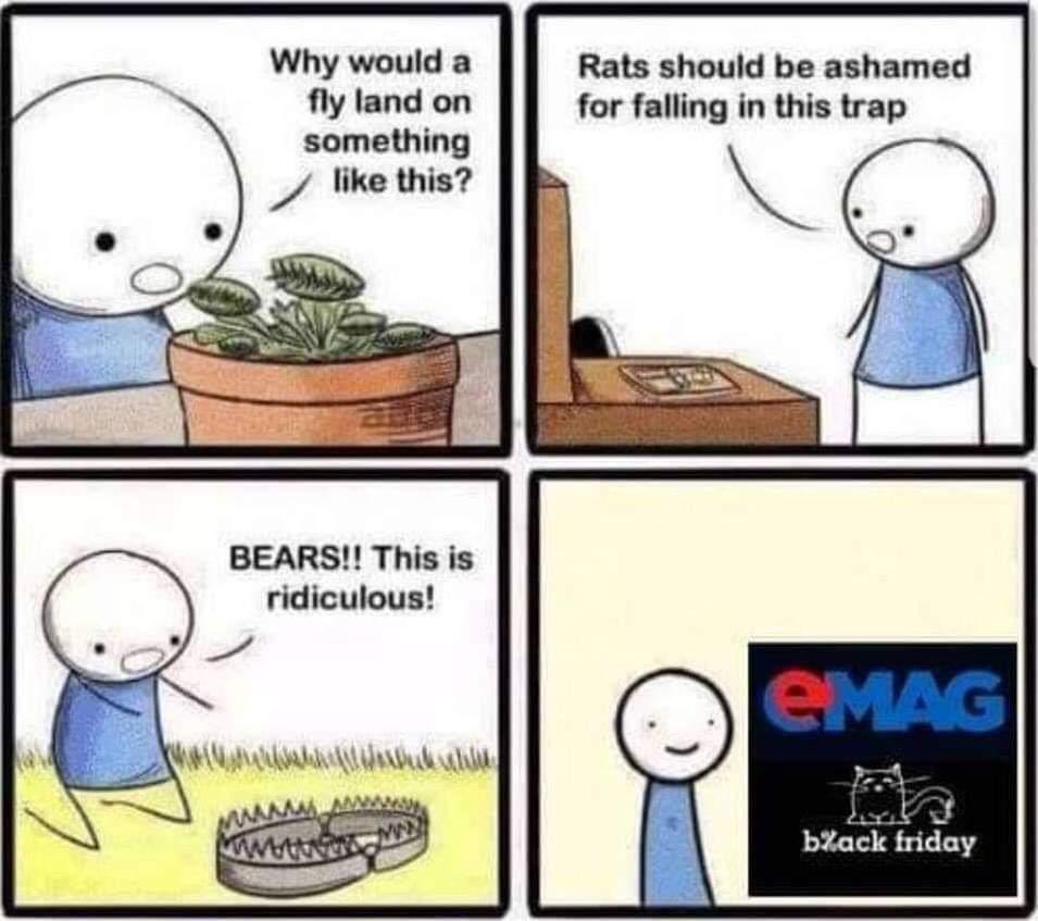 cele mai tari meme-uri despre black friday 2018