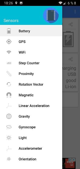 aplicatie pentru calibrat senzorii telefonului
