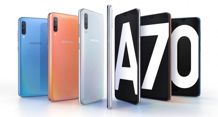 Cu 6.7 inch si camera de 32 MP, Samsung Galaxy A70 este oficial