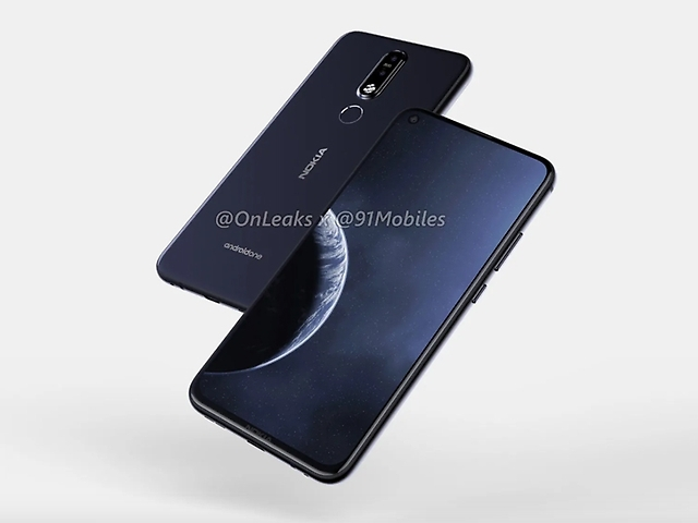 Nokia X71 cu 3 camere de 48MP si display punch hole