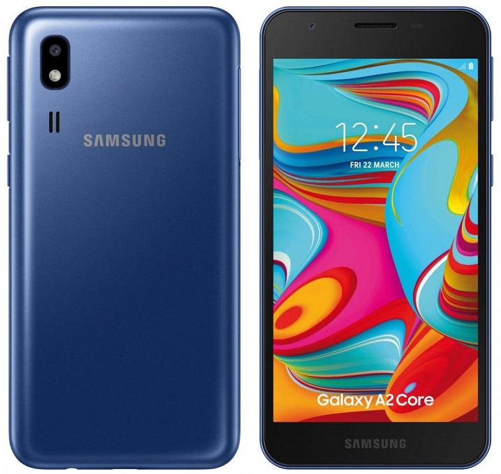 Samsung anunta modelul Galaxy A2 Core, pret super mic