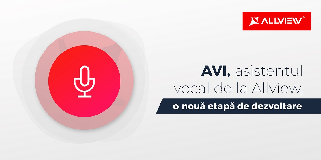 Allview AVI, asistentul in limba romana, devine mai inteligent