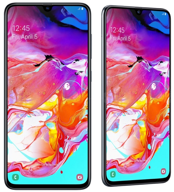 Samsung Galaxy A70 cu display Infinity-U, pret si specificatii