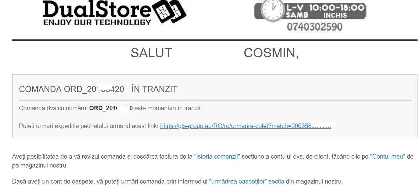 Pareri Dualstore, magazin de telefoane mobile si electronice