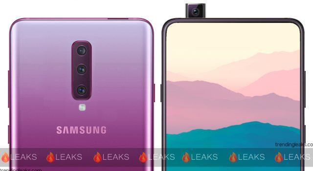 Samsung Galaxy A90, mecanism slider si Snapdragon 7150