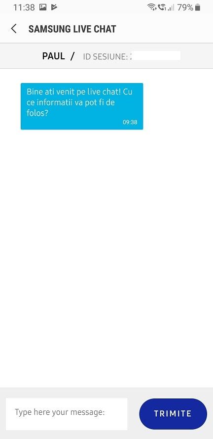 aplicatie speciala pentru telefoanele samsung