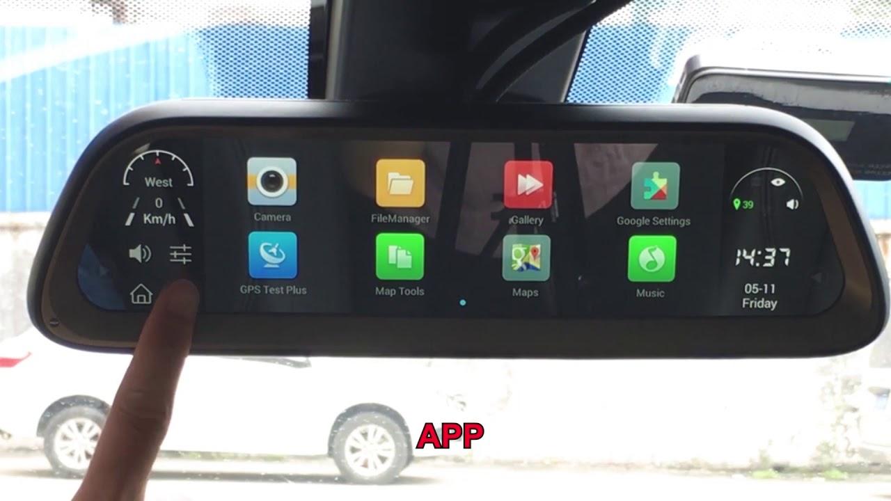 oglinda auto cu android