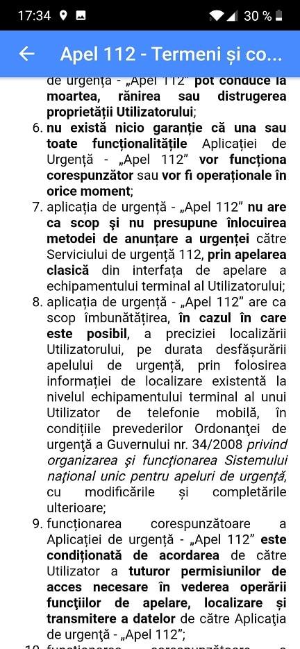 aplicatia apelare 112