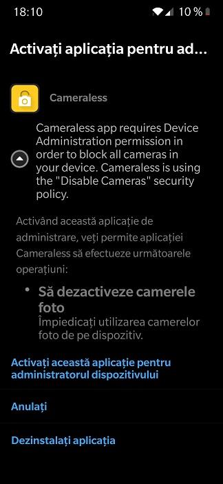 crezi ca telefonul te filmeaza fara sa vrei? instaleaza camera blocker