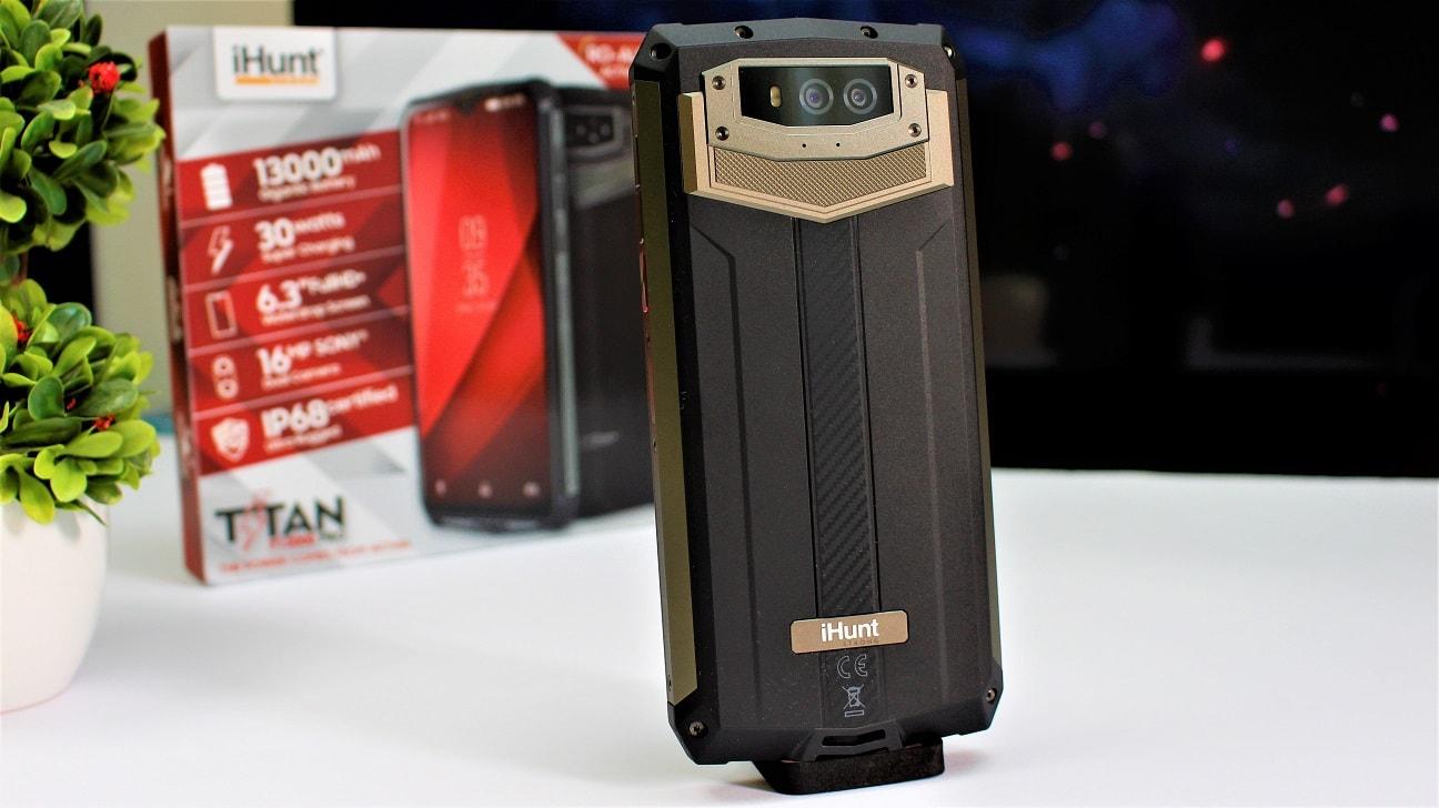 telefonul cu cea mai buna baterie, ihunt p13000 titan pro, review