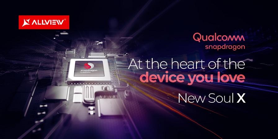 soul x, un allview cu procesor snapdragon, din 2020