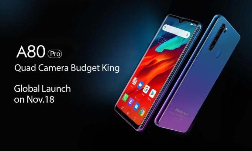 cel mai ieftin telefon cu 4 camere? blackview a80 pro, pret si pareri