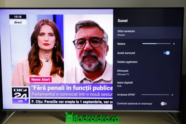 review android tv allview 50eplay6100u, 4k, hdr, 127cm