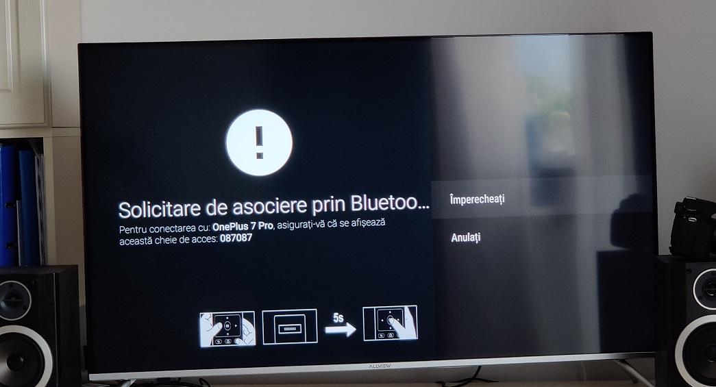 250 lei si ai smart tv cu android prin xiaomi mi tv stick cu bluetooth