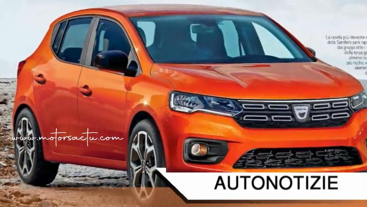 Pret noua Dacia Sandero 2020, lansare in septembrie, inclusiv hibrid