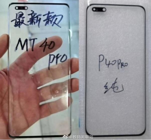 Huawei Mate 40 Pro cu doua camere selfie, dar de dimensiuni mai mici